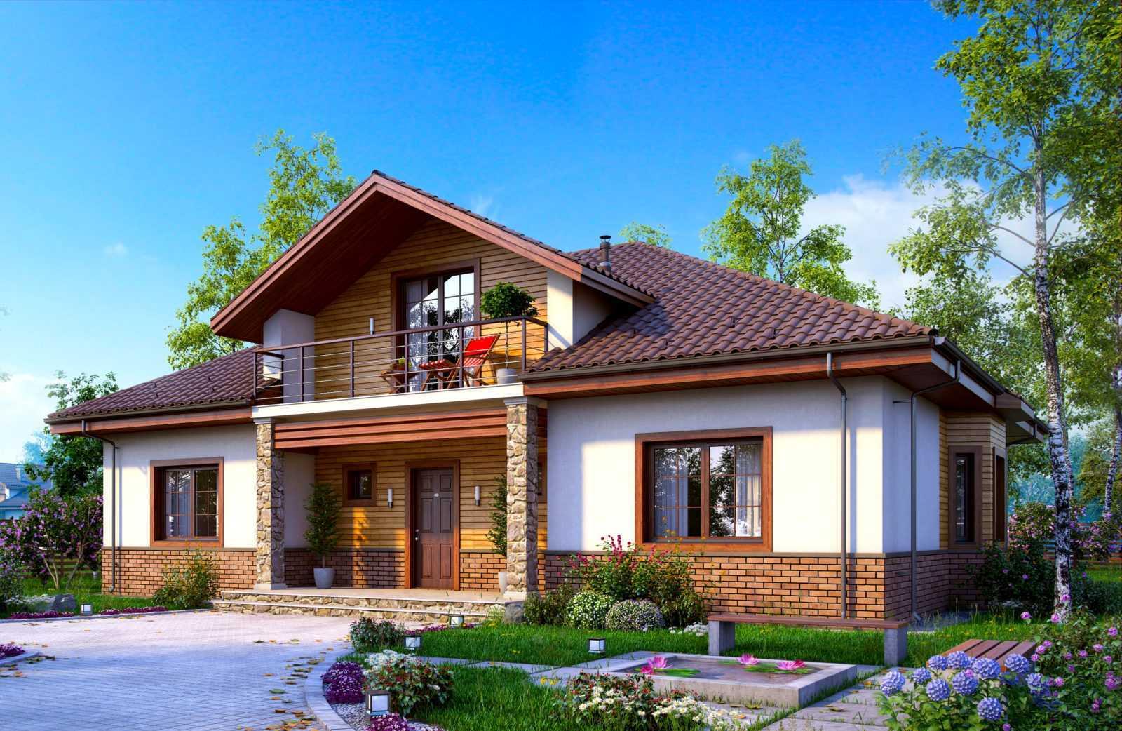 Картинки новых дачных домов чаще всего